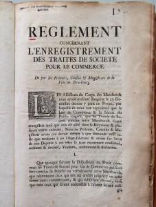 Registre du Corps des Marchands, Archives municipales de Strasbourg